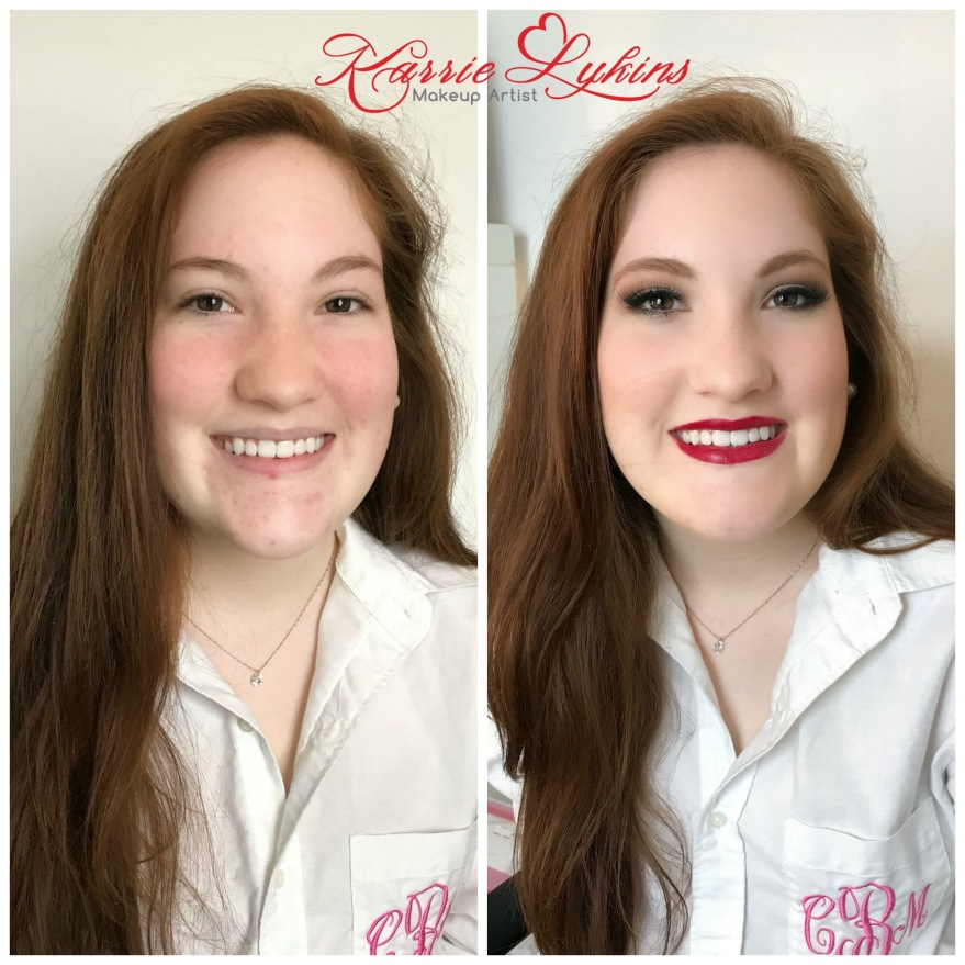 Colleen's Senior Prom Makeup